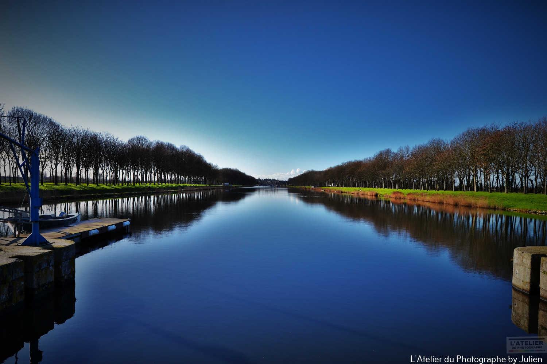 Le Canal du Port de Carentan
