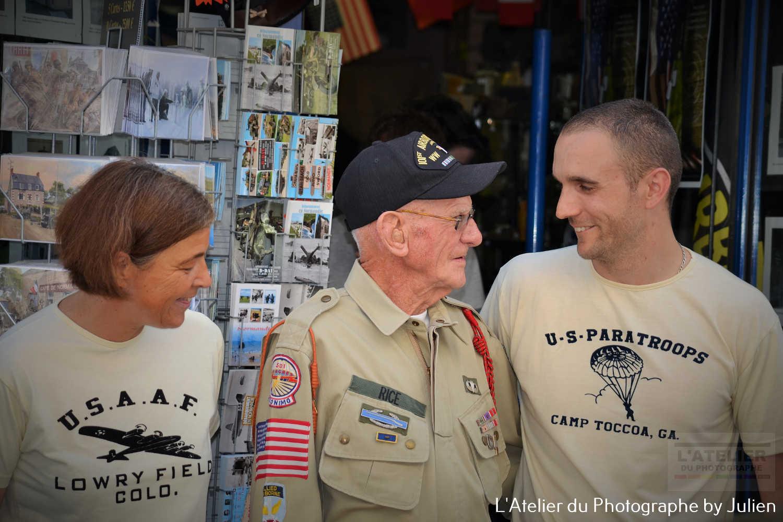 Vétéran Rice à La petite musette de Carentan