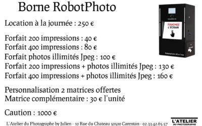 Robot Photo en location