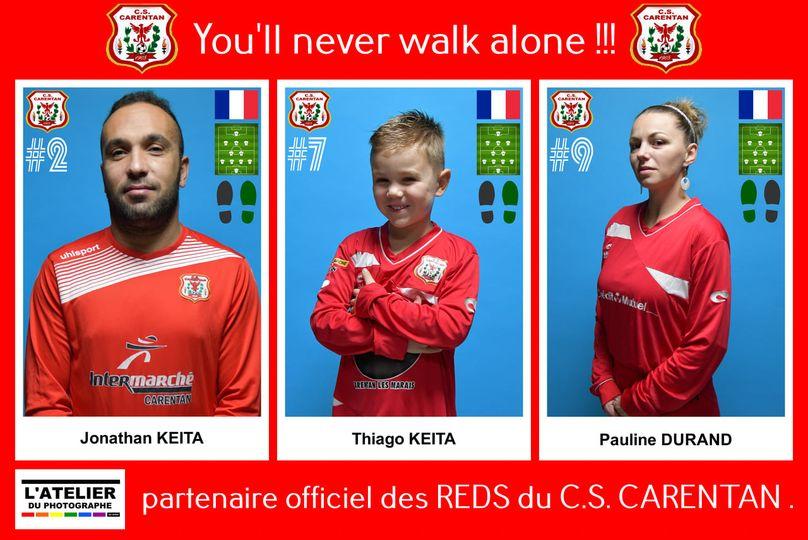 Partenaire du cscarentanfootball.com et solidaire des REDS de CARENTAN. 🔴🔴